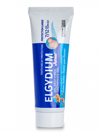ELGYDIUM JUNIOR Dentifrice Bubble Gum